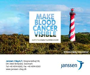 Make Blood Cancer Visible - kampagne fra Janssen
